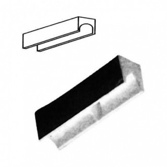 Cerradura Sobreponer 124-Ap140 Iz. Perf.