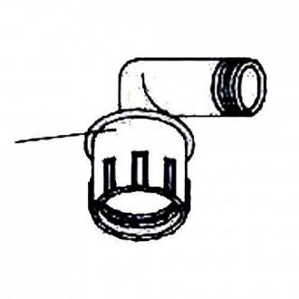 Bocacartas Aluminio Pintado Blanco 00410