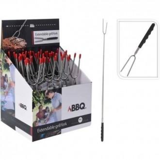 Kit Barra Metal Extensible 160-300 Cm. 19/16 Mm. Bco.